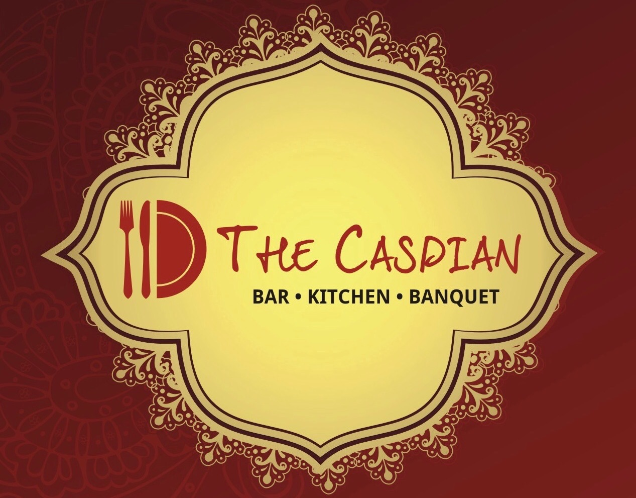 The Caspian Bar Kitchen Banquet - logo