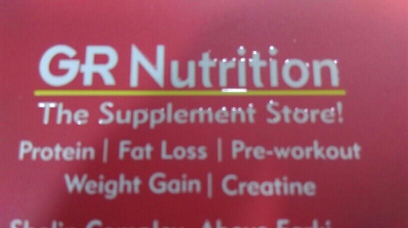 G R NUTRITION - logo
