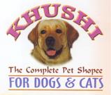 Khushi Pet Shopee - logo