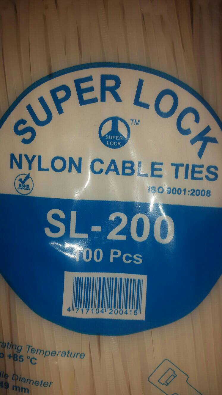 SUPER LOCK CABLE TIES
