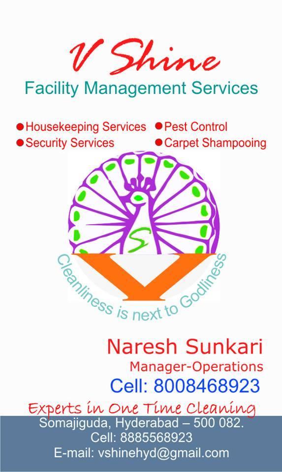 V Shine Facility Management services - logo