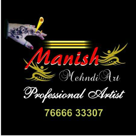 Manish Mehndi Art - logo