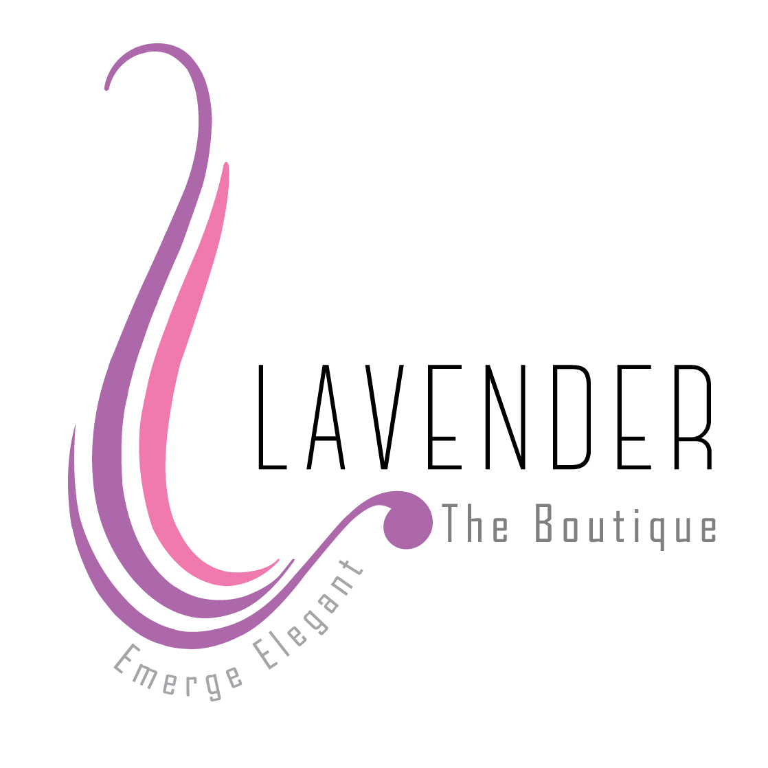 Lavender, The Boutique  - logo