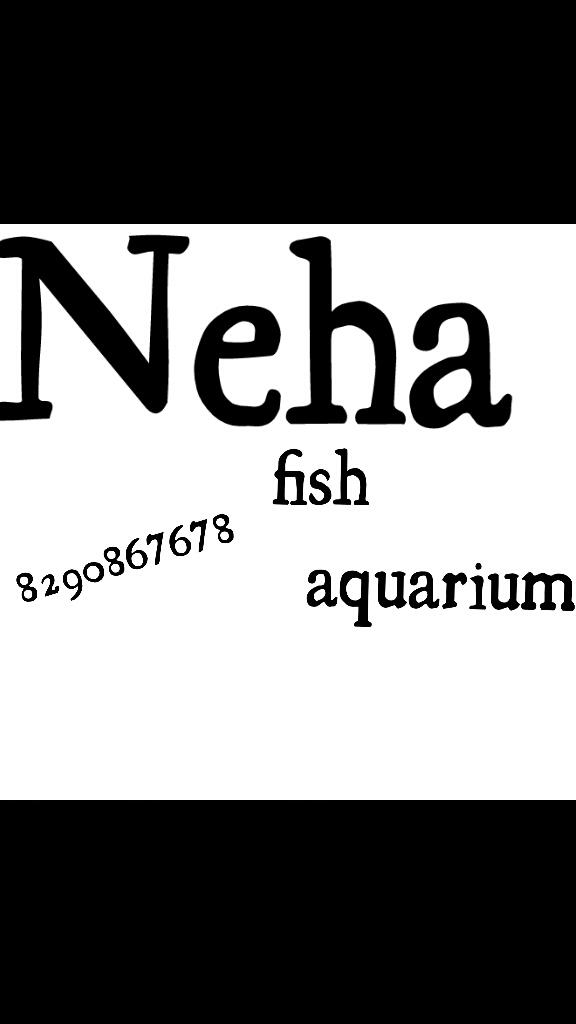 Neha Fish Aquarium - logo