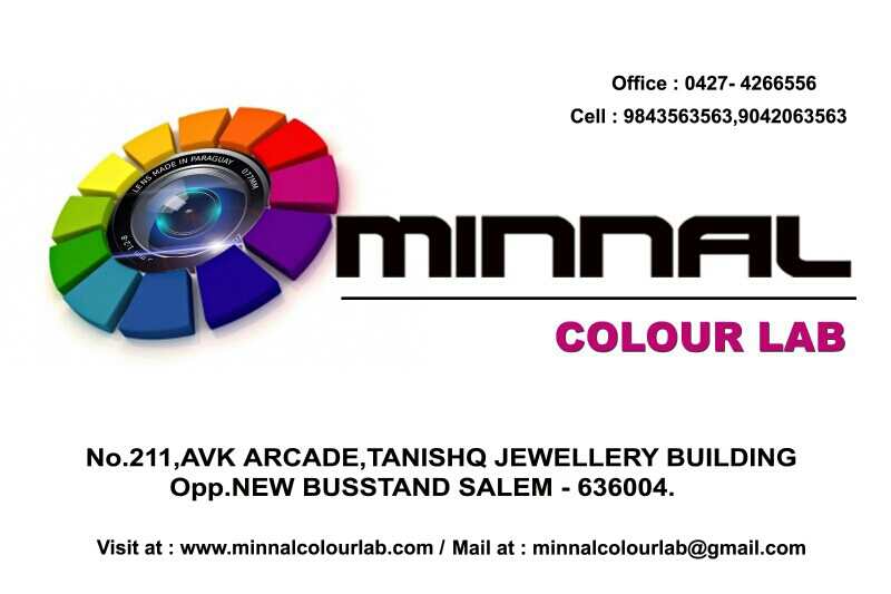 Minnal Colour Lab - logo