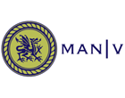 man v (made to measure) - logo