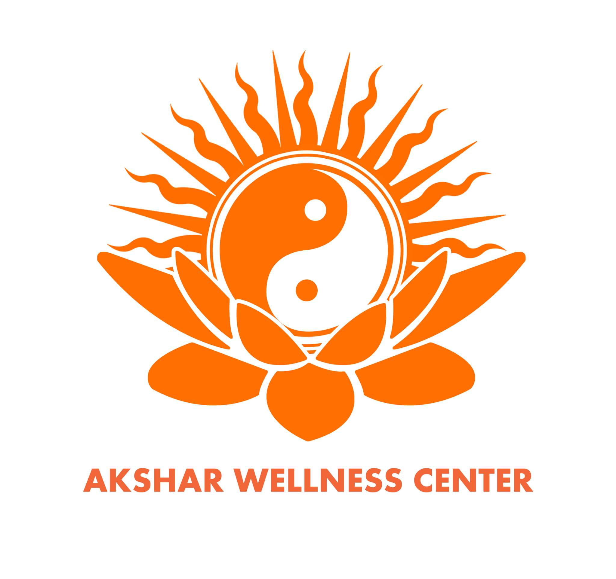 Akshar Wellness centre - logo