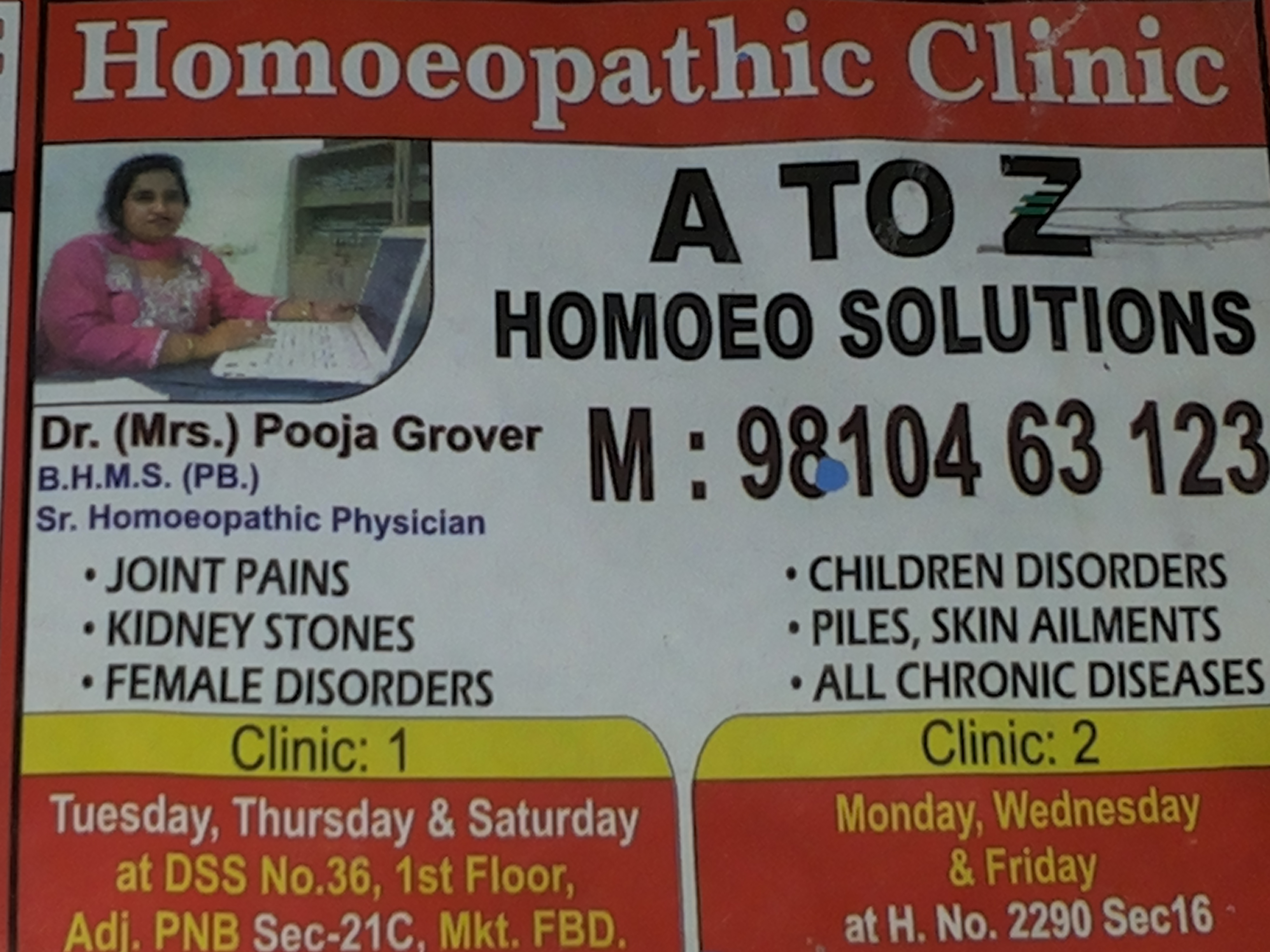 A to Z Homoeo Solutions