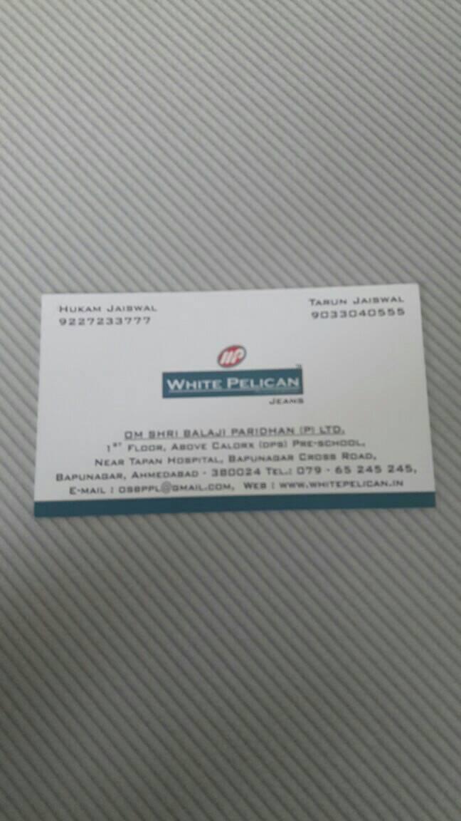 White Pelican - logo