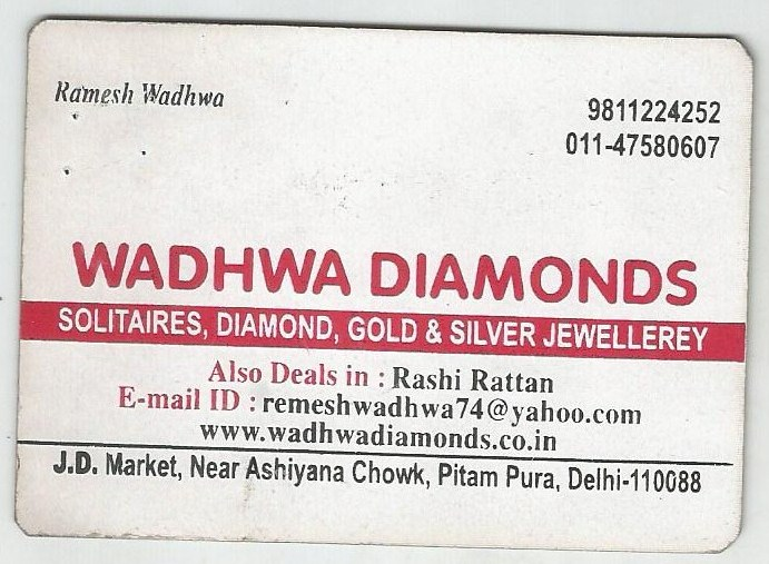 Wadhwa Diamonds