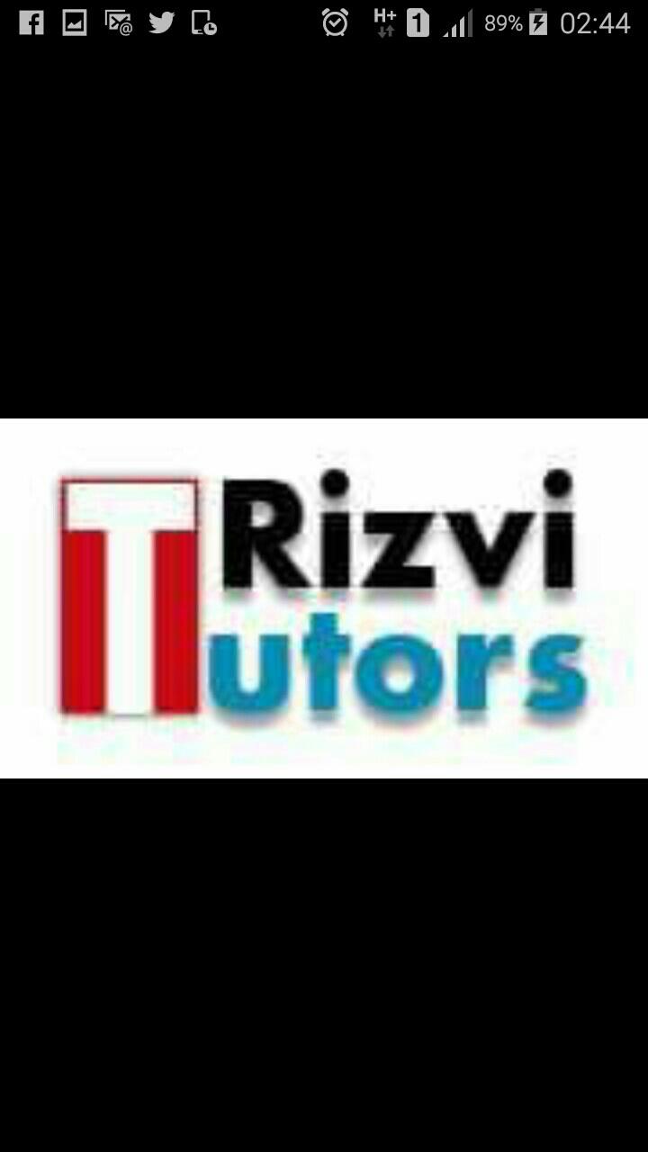 RIZVI TUTORS BUREAU@9871719089 - logo
