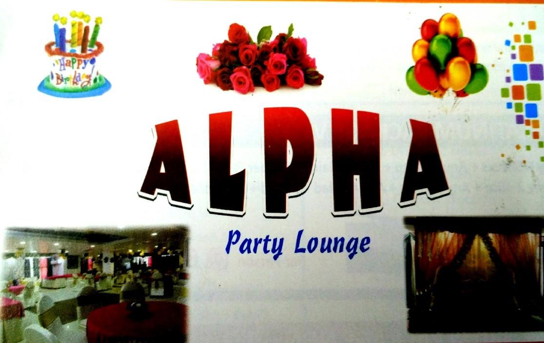 Alpha Party Lounge - logo