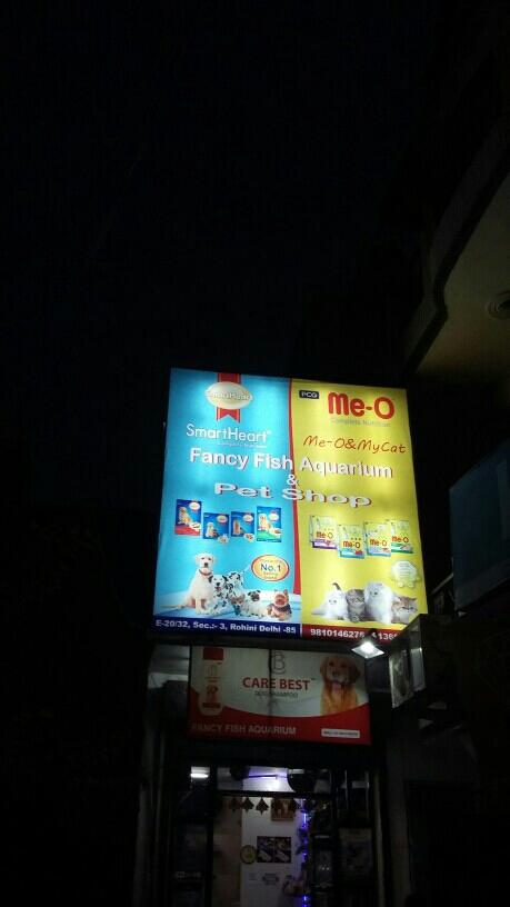 Fancy Fish Aquerium Pet Shop - logo