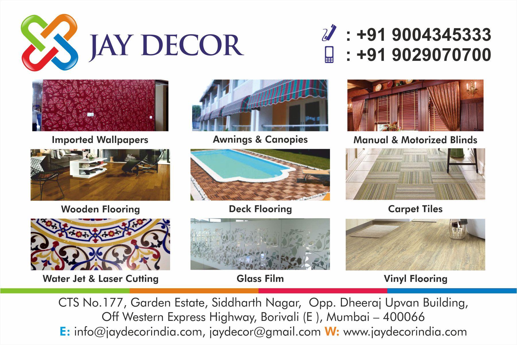 Jay Decor - logo