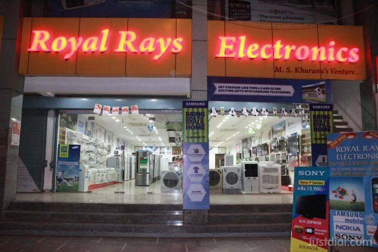 Royal Rays Electronics - logo