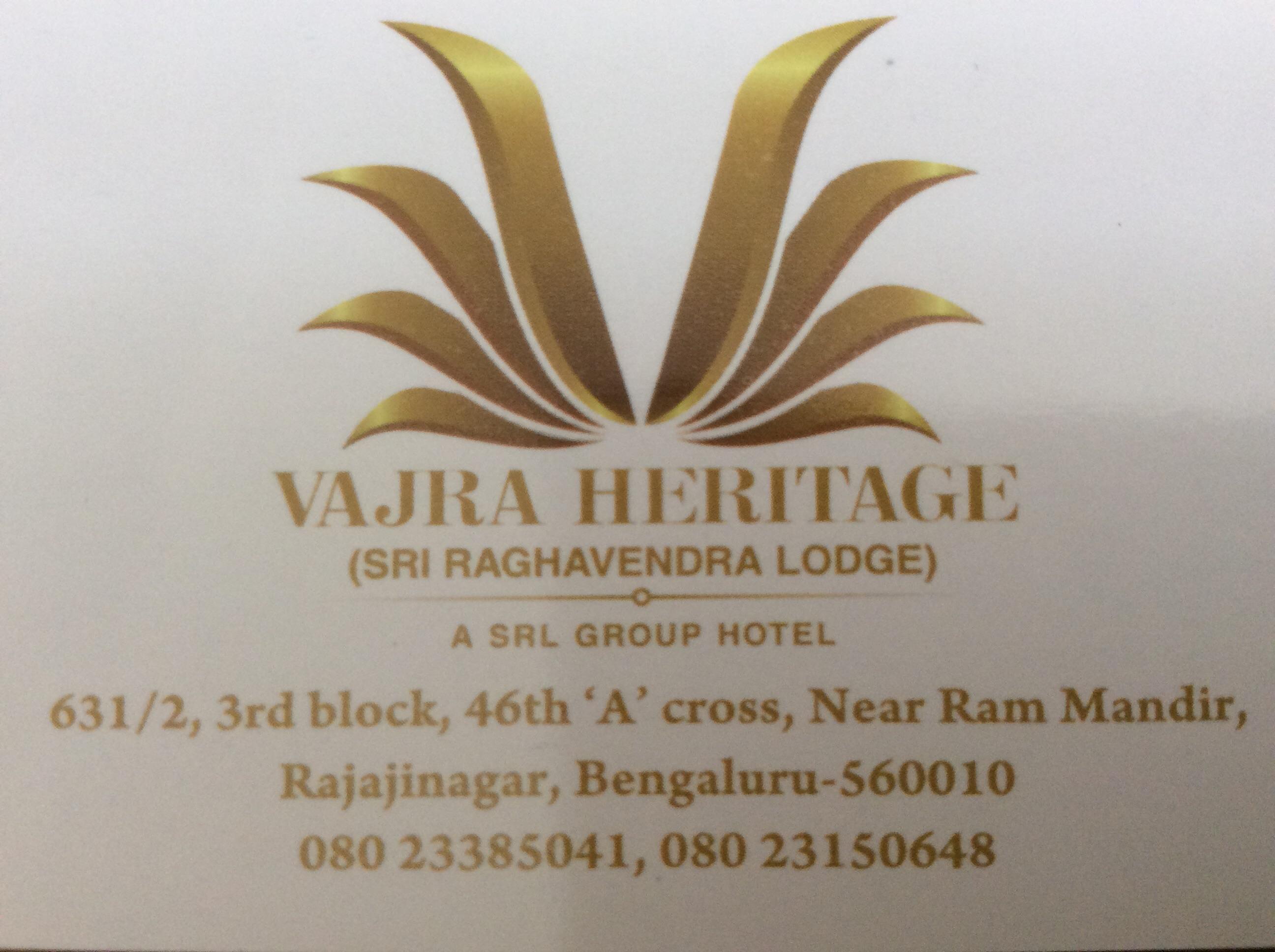 VAJRA HERITAGE - logo