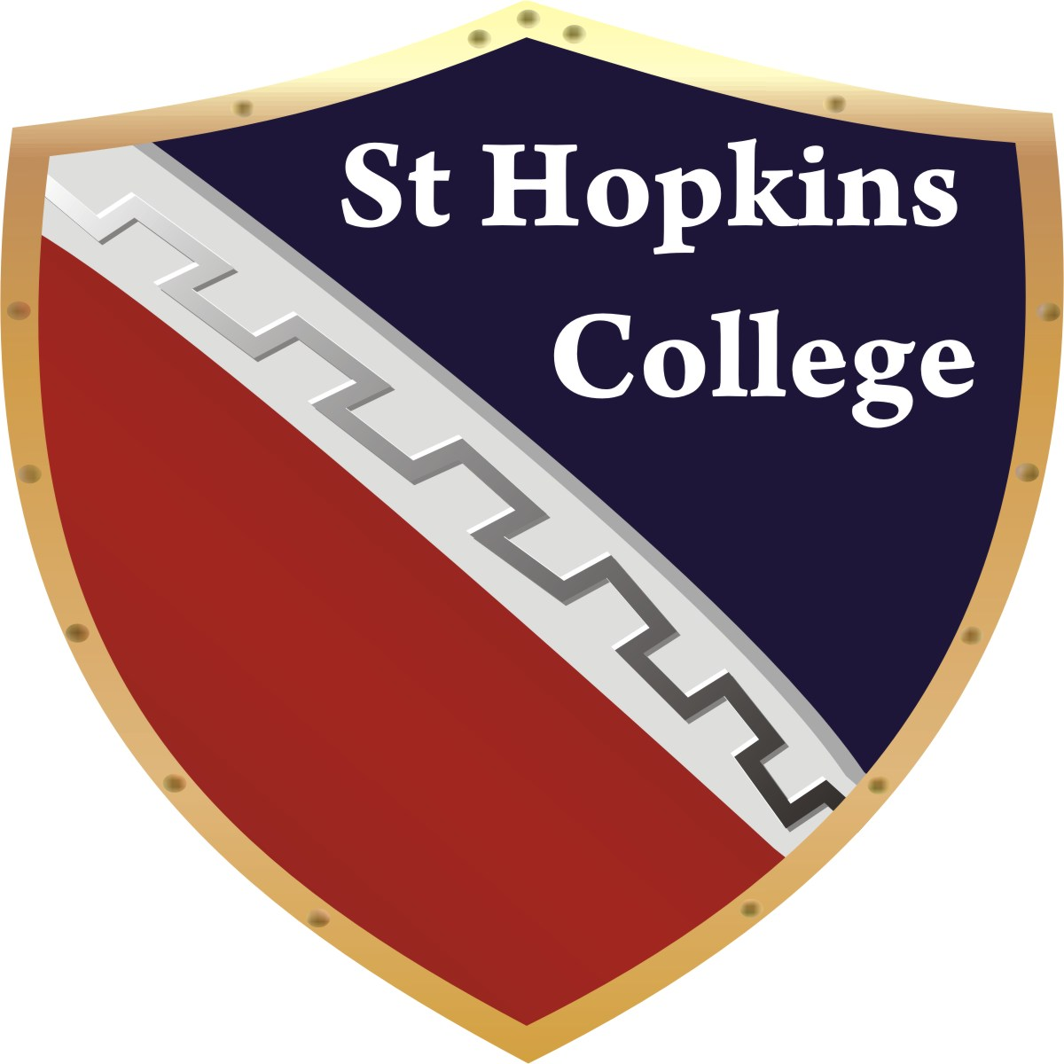 St Hopkins College - logo