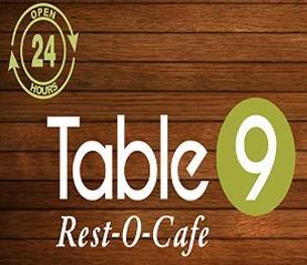 Table 9 Rest O Cafe - logo