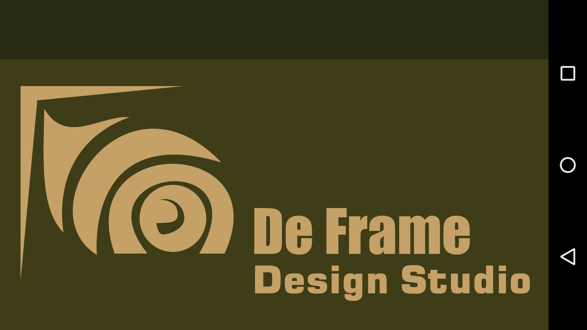 De Frame Design Studio - logo