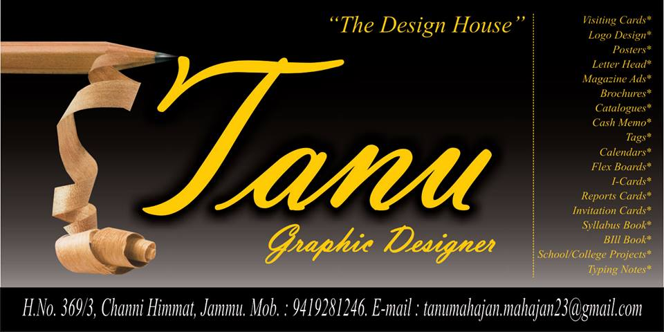 Tanu Graphic Designer
