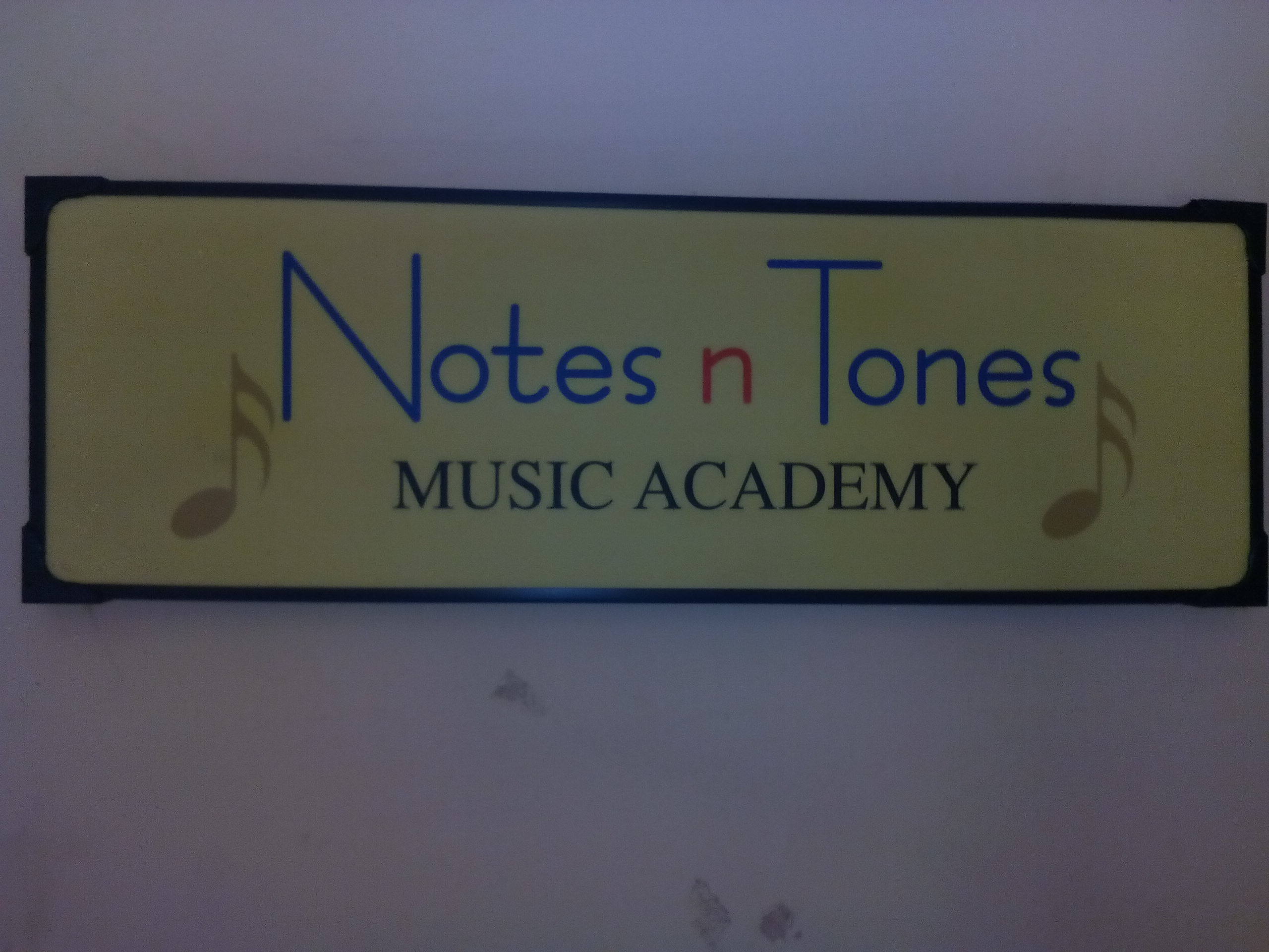 Notes n Tones Music Academy - logo