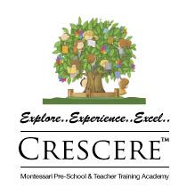 Crescere Montessori School - logo