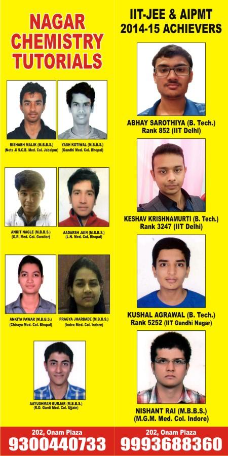 Nagar Chemistry Tutorials
