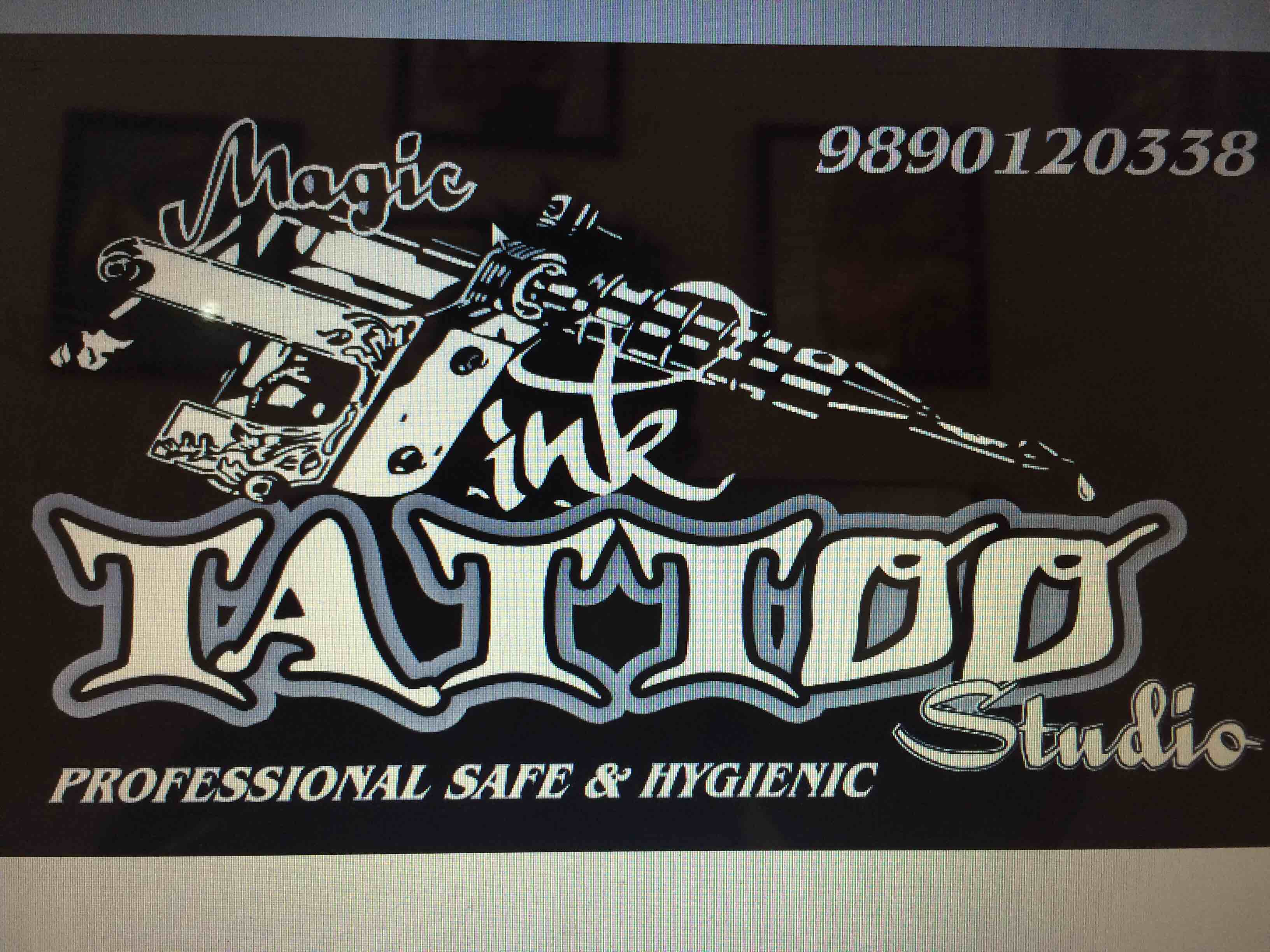 MAGIC ink tattoo studio goa - logo