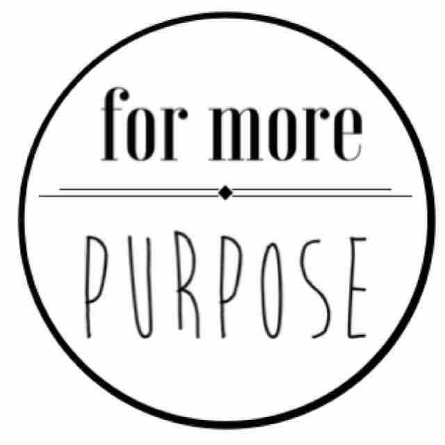 For More Purpose - logo
