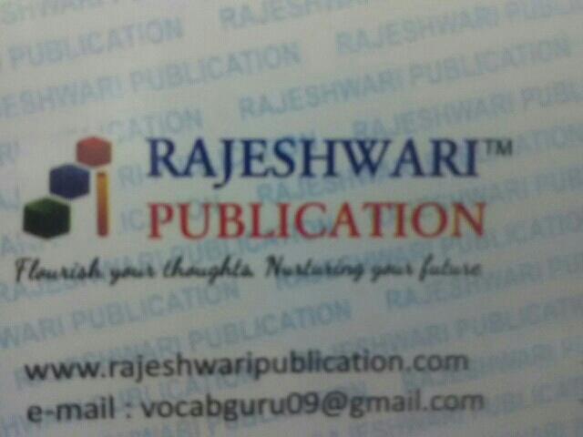 Vocab Guru Rajeshwari Publication - 9540676563 - logo
