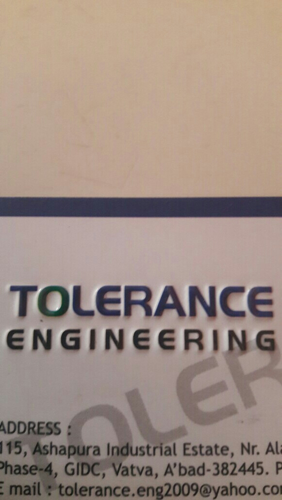 Tolerance Engineering - logo