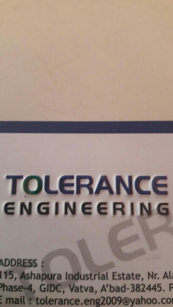 Tolerance Engineering