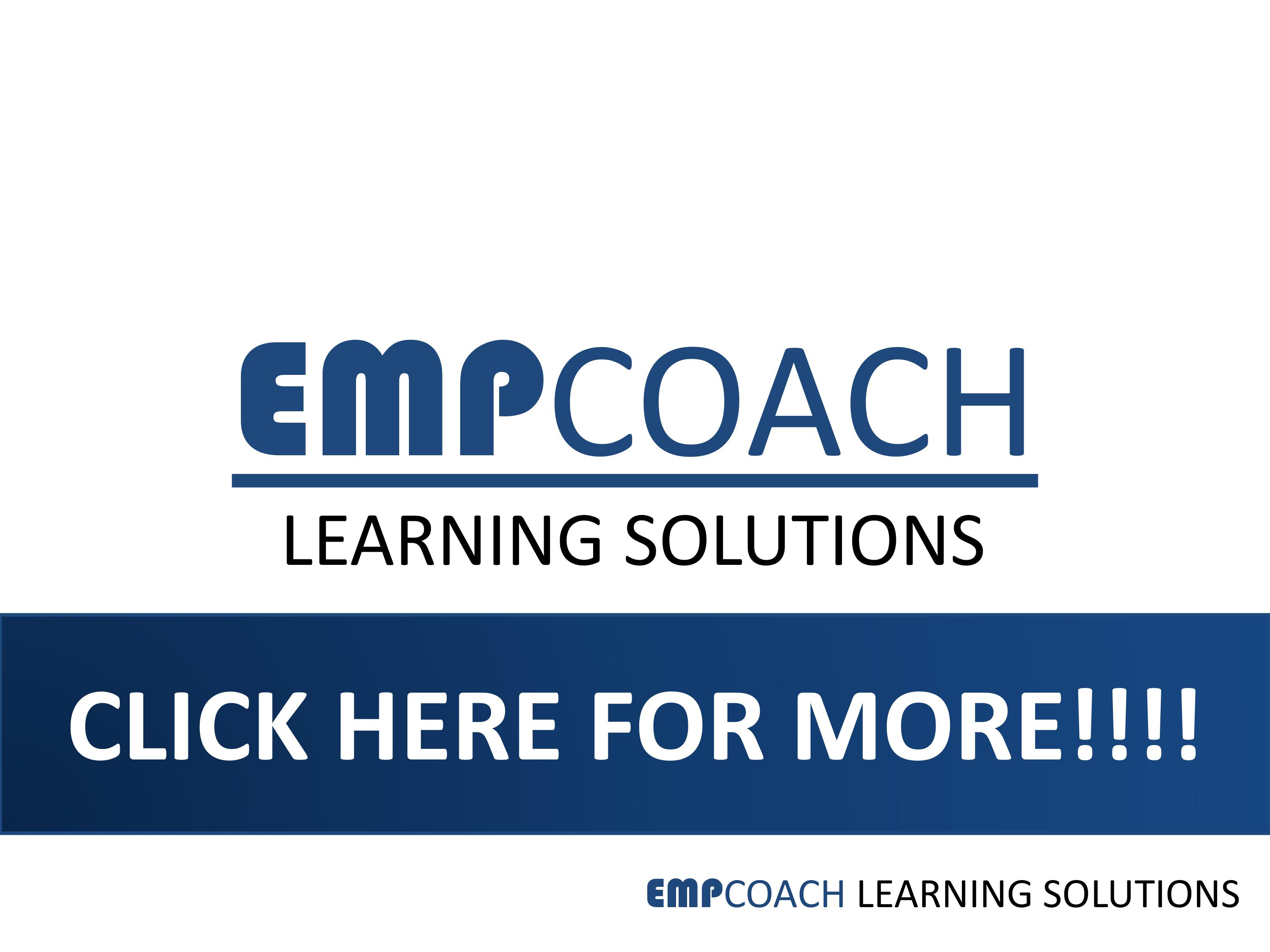 EMPCOACH LEARNING SOLUTIONS