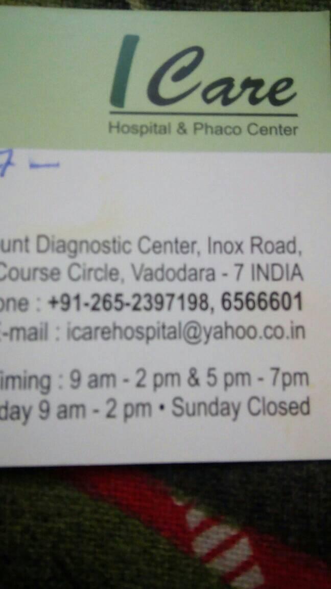Icarehospital - logo