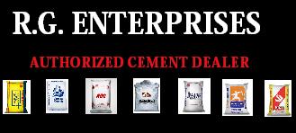 RG ENTERPRISES | Cement Dealer | Cement Wholesaler Prices | Online Booking   Phone No - 9958658867 || Noida-Ghaziabad-NCR - logo