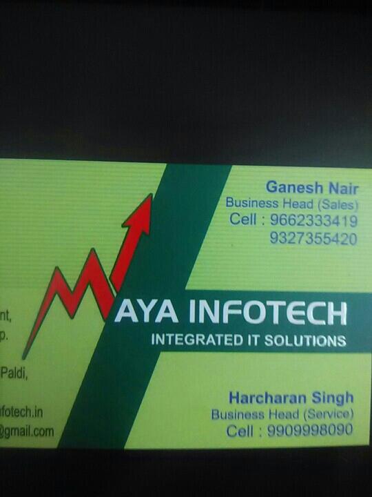 Maya Infotech - logo