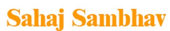 Sahaj Sambhav Org - logo