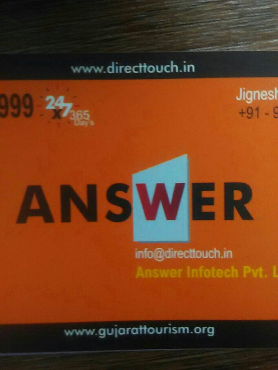 Answer Infotech I 9898862888 - logo