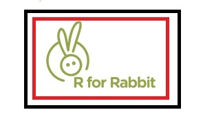 Welcome to R for Rabbit - logo