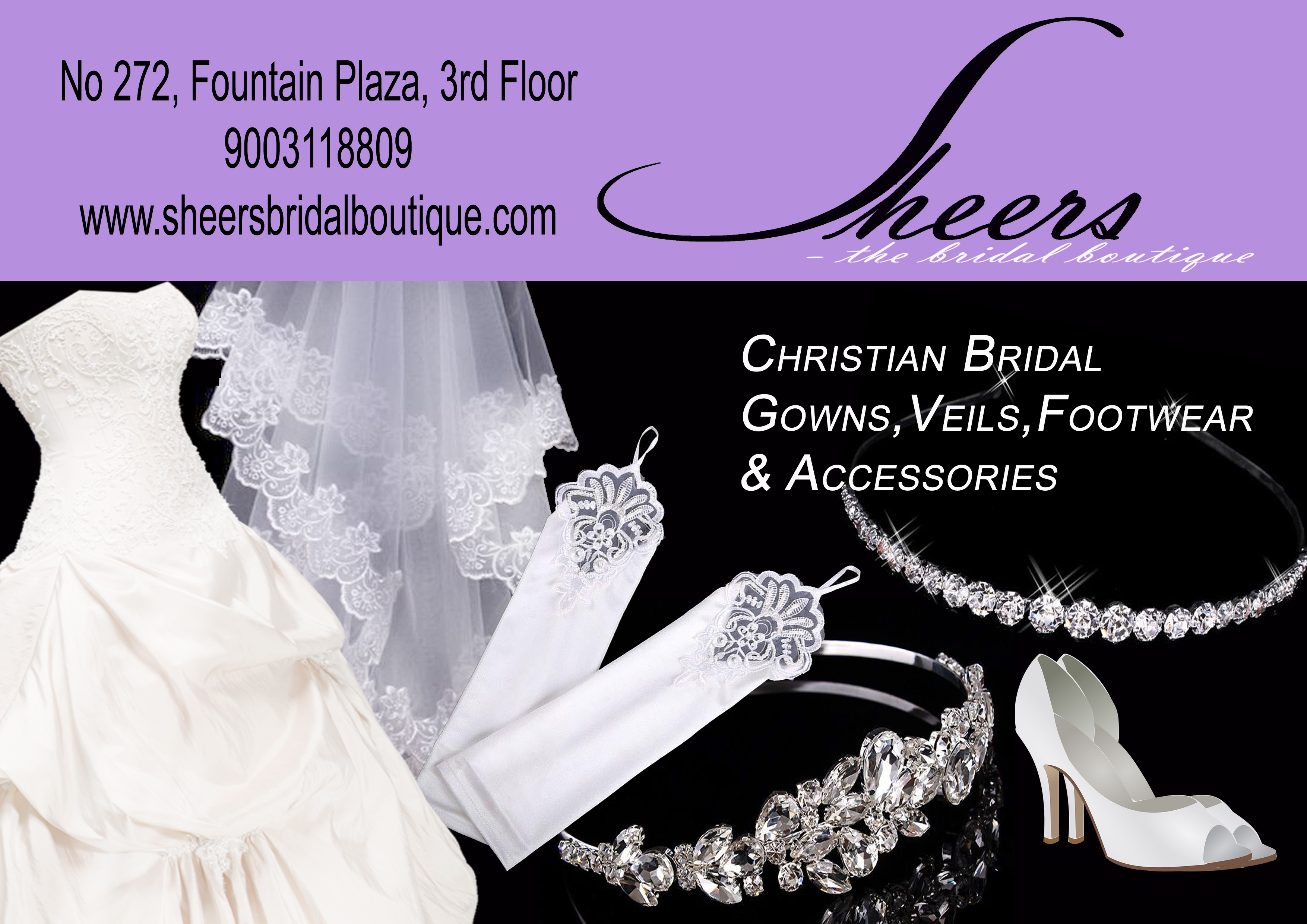 Sheers Bridal Boutique - 9003118809 - logo