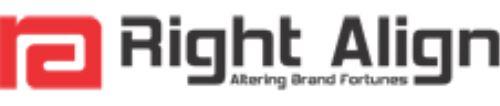 Right Align Advertising Pvt.Ltd. +91 9444892480 - logo