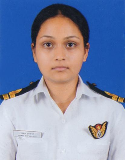 Lieutenant Kiran Shekhawat Foundation - logo