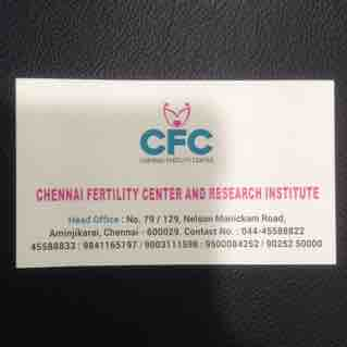 Chennai Fertility Center - logo