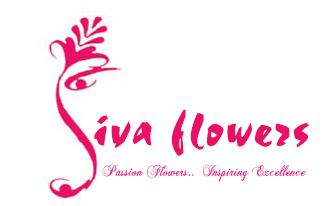 Siva Flowers - logo