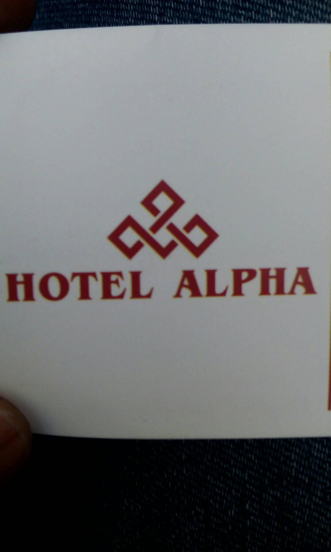 Hotel Alpha - logo