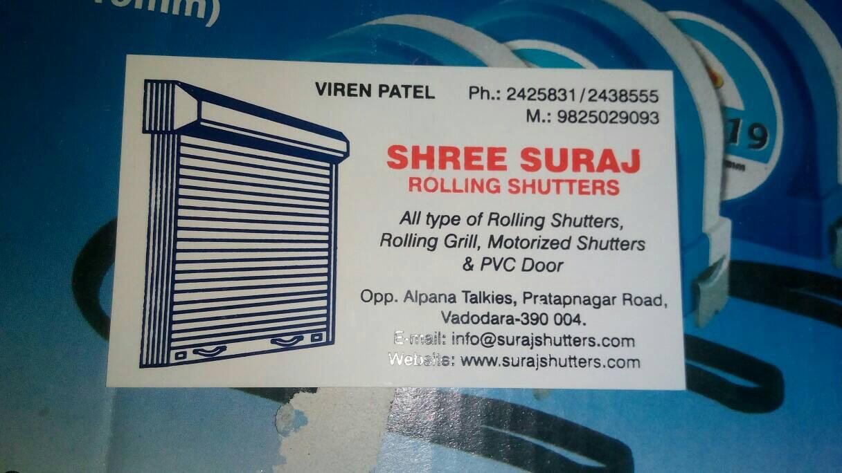 Shree Suraj Rolling Shutter - logo