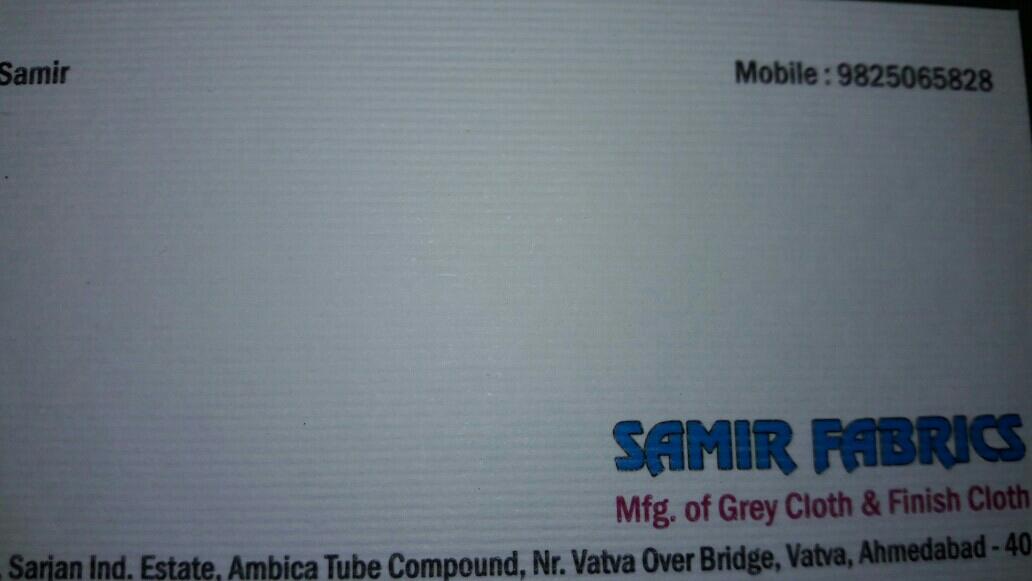 SAMIR FABRICS - logo