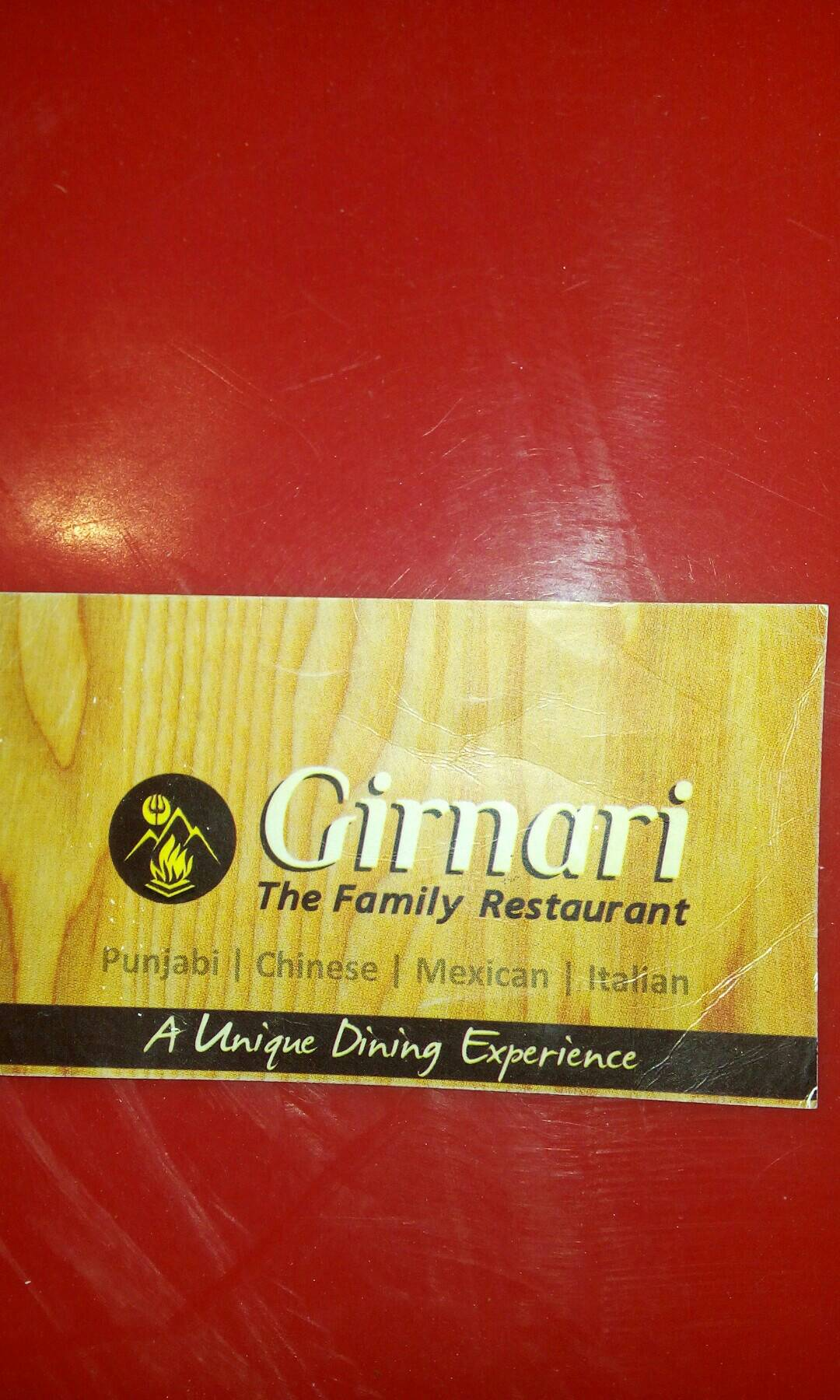 Girnari The Family Restaurant - logo