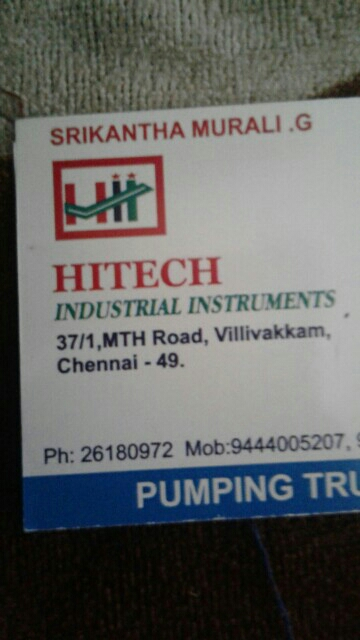 Hi tech Industrial Instruments