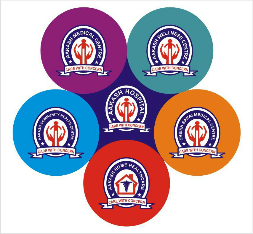 Aakash Hospital - Care with Concern - logo